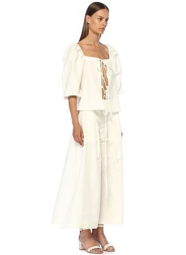 Cult Gaia Bluz Beyaz